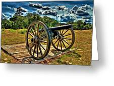 Andersonville Cannon Greeting Card