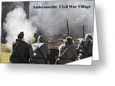 Andersonville Civil War Village Greeting Card