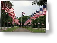 Andersonville National Cemetery Greeting Card