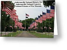 Andersonville National Park Greeting Card