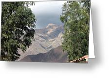 Andes Greeting Card