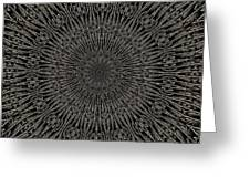 Andoluvium Metal Mandala Greeting Card