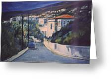 Andros Greeting Card by George Siaba