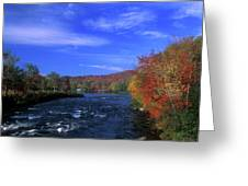 Androscoggin River Headwaters Greeting Card