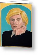 Andy Warhol Greeting Card
