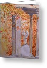 Ange  Petit Trianon Versailles Greeting Card