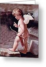 Angel - The Angel Of Love Greeting Card