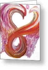 Angel Of Courage Greeting Card