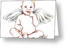 Angel Baby Greeting Card