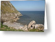 Angel Bay. Little Orme.  Greeting Card