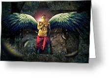 Angel Body Art Greeting Card