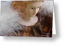 Angel Doll Greeting Card