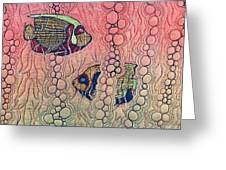 Angel Fish Greeting Card