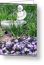 Angel Garden Greeting Card