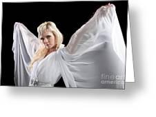 Angel Goddess Greeting Card