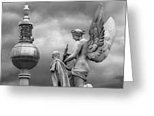 Angel In Berlin Greeting Card