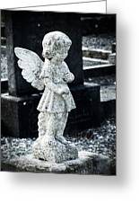 Angel In Roscommon No 3 Greeting Card
