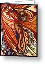 Angel Lucifer Greeting Card