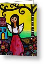 Angel Nilda Greeting Card