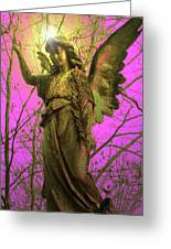 Angel Of Bless No. 02 Greeting Card by Ramon Labusch