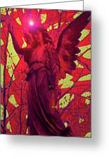 Angel Of Blesss No. 05 Greeting Card by Ramon Labusch