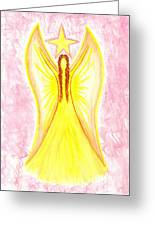 Angel Of Confidence Greeting Card