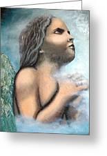 Angel Of Faith Greeting Card