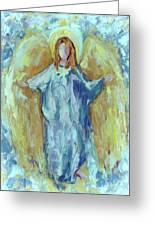 Angel Of Harmony Greeting Card