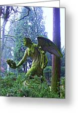 Angel Of Honor No. 01 Greeting Card by Ramon Labusch