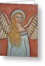 Angel Of Liberation Greeting Card