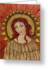 Angel Of Nature Greeting Card