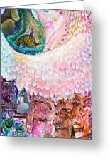 Angel Of Protection  Greeting Card