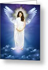 Angel Of Pure Light Greeting Card