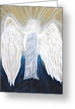 Angel Of Salvation Greeting Card