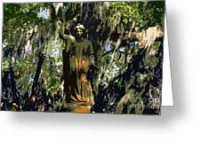 Angel Of Savannah Greeting Card