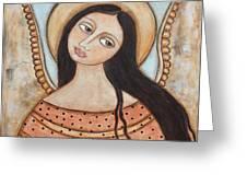 Angel Of Silence Greeting Card