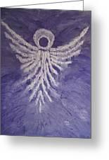 Angel Of Spring Greeting Card