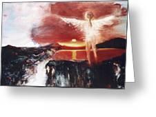 Angel Of The Yucatan Greeting Card