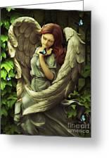 Angel Oriphiel Greeting Card