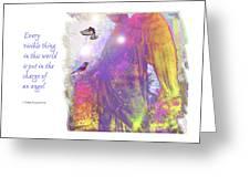 Angel Vision Greeting Card