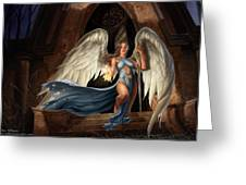 Angel Warrior Greeting Card