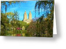 Perfect Morning In The Park Greeting Card
