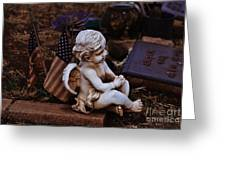 Angelic Sentry Greeting Card