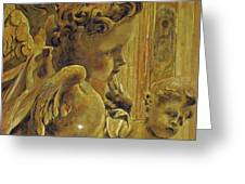Angelic Tapestry Greeting Card