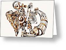 Angelic Tube 3637 Greeting Card