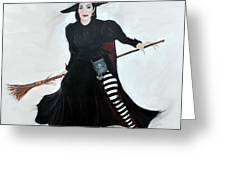 Angelica Houston Bewitched Greeting Card