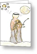 Angelita Blanco Greeting Card