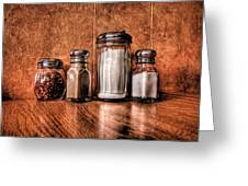 Angelo's Condiments Greeting Card