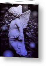 Angels And Fireflies Greeting Card