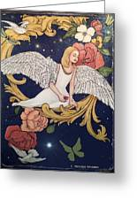 Angels Dream Greeting Card by Melodye Whitaker
